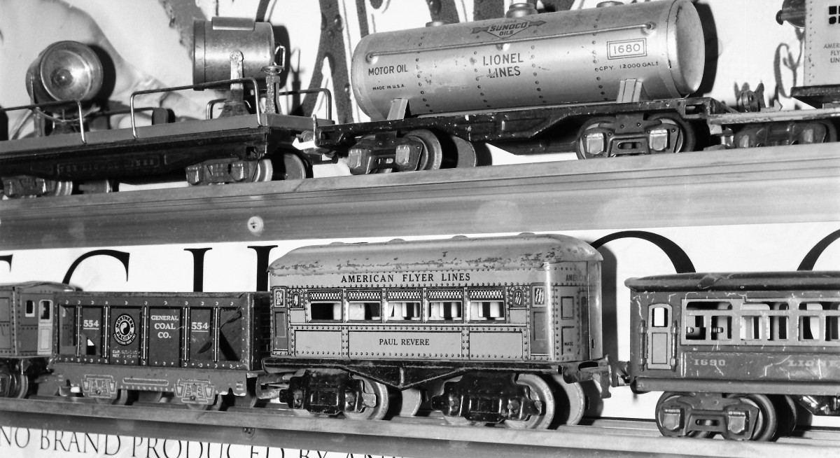 Tin Trains Made in The USA